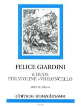 6 Duos für Violine + Violoncello – Heft 2 (n° 4-6) - laflutedepan.com
