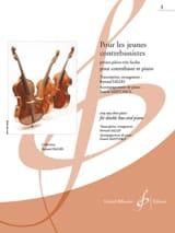 Bernard Salles - Pour les Jeunes Contrebassistes Vol 1 - Partition - di-arezzo.fr