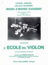 Recueil D'oeuvres Classiques - Cahier N° 2 laflutedepan.com
