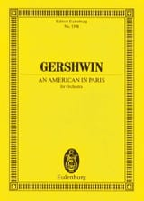 An American In Paris - Conducteur George Gershwin laflutedepan.com