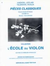 Pièces Classiques Cahier N° 1 Pierre Doukan Partition laflutedepan.com