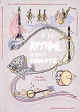 Si le Rythme M'était Compté Volume 1 Partition laflutedepan.com