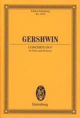 Klavier-Konzert F-Dur - Conducteur George Gershwin laflutedepan.com
