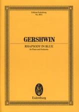Rhapsody in Blue – Score - George Gershwin - laflutedepan.com