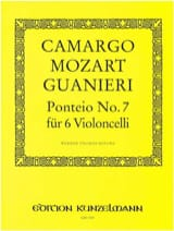 Ponteio n° 7 Camargo Mozart Guanieri Partition laflutedepan.com