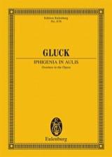 Iphigenie In Aulis, Ouverture - Conducteur GLUCK laflutedepan.com