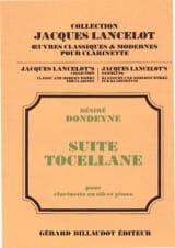 Desiré Dondeyne - Suite Tocellane - Partition - di-arezzo.fr