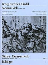 Sonata a-moll op. 1 n° 4 - Altblockflöte Flöte, Violine, Oboe Gitarre laflutedepan.com