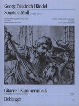HAENDEL - Sonate a-moll op. 1 n ° 4 - Altblockflöte Flöte, Violine, Oboe Gitarre - Noten - di-arezzo.de