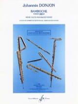 Bamboche - Rondo-Gigue Johannes Donjon Partition laflutedepan
