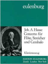 Johann Adolf Hasse - Concerto F-Dur - Flöte Klavier - Partition - di-arezzo.fr