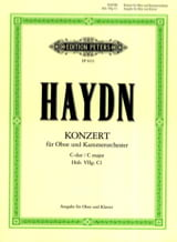 HAYDN - Oboenkonzert C-Dur Hob. 7g: C1 Oboe Klavier - Sheet Music - di-arezzo.co.uk