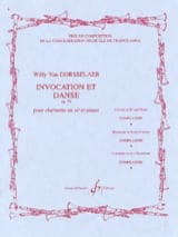 Invocation et Danse op. 59 Willy van Dorsselaer laflutedepan.com