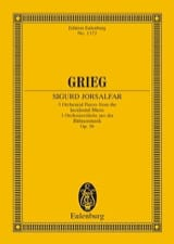 Edvard Grieg - 3 Orchesterstücke, op. 56 - Sheet Music - di-arezzo.co.uk