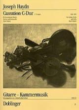 Cassation C-Dur Hob. 3 : 6 -Partitur + Stimmen HAYDN laflutedepan.com