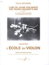 L' Abc du Jeune Violoniste Volume 3 Pierre Doukan laflutedepan.com