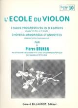 L' Ecole du Violon Volume 10 Pierre Doukan Partition laflutedepan.com