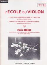 L' Ecole du Violon Volume 11 - Pierre Doukan - laflutedepan.com