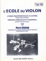 L' Ecole du Violon Volume 13 - Pierre Doukan - laflutedepan.com