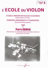 Pierre Doukan - The Violin School Volume 4 - Sheet Music - di-arezzo.com
