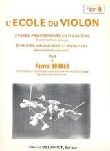 L' Ecole du Violon Vol. 9 Pierre Doukan Partition laflutedepan.com