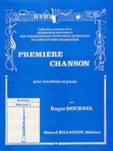 Première chanson Roger Dournel Partition Hautbois - laflutedepan.com