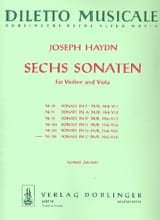 Sonate Nr. 6 C-Dur - Joseph Haydn - Partition - laflutedepan.com