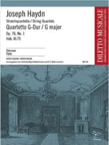 Streichquartett G-Dur op. 76 n° 1 -Stimmen laflutedepan.com