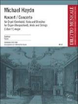 Michael Haydn - Konzert C-Dur f. Orgel, Viola Str. – Partitur - Partition - di-arezzo.fr