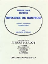 Pierre-Max Dubois - Oboe stories - Volume 2: Tambourino - Sheet Music - di-arezzo.com
