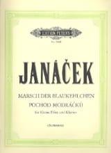 Marsch Blaukehlchen Leos Janacek Partition laflutedepan.com