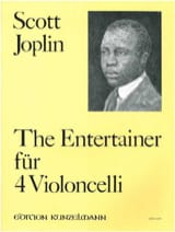 The Entertainer für 4 VIoloncelli Scott Joplin laflutedepan.com