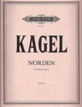 Mauricio Kagel - Norden – Partitur - Partition - di-arezzo.fr