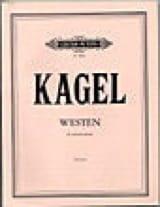 Mauricio Kagel - Westen – Partitur - Partition - di-arezzo.fr