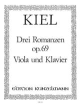 3 Romanzen op. 69 - Friedrich Kiel - Partition - laflutedepan.com