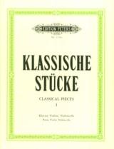 Klassische Stücke Bd. 1 - Trio Carl Hermann Partition laflutedepan.com
