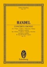 HAENDEL - Concerto grosso B-Dur - Partition - di-arezzo.fr