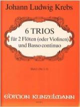 6 Trios - Heft 1 -2 Flöten Violinen Bc laflutedepan