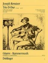 Joseph Kreutzer - Trio D-Dur op. 9/3 –Flöte Violine Gitarre - Partition - di-arezzo.fr