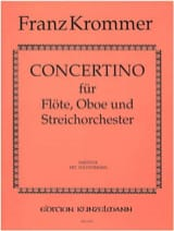Franz Krommer - Concertino - Solostimmen Partitur - Sheet Music - di-arezzo.co.uk