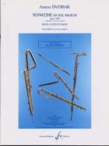 Sonatine en Sol Majeur Op. 100 Antonin Dvorak laflutedepan.com