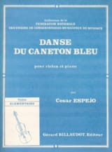 Cesar Espéjo - Dance of the blue duckling - Sheet Music - di-arezzo.com