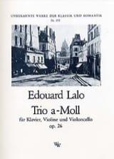 Trio a-moll op. 26 -Klavier, Violine Cello laflutedepan.com