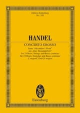 Georg F Haendel - Concerto grosso C-Dur - Partition - di-arezzo.fr