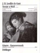 Sonate a-moll op. 1 n° 1 – Altblockflöte (Violine, Oboe) Gitarre - laflutedepan.com