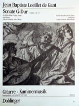 Sonate G-Dur op. 1 n° 3 – Altblockflöte (Violine, Oboe) Gitarre - laflutedepan.com