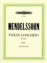 Concerto Violon ré mineur Menuhin -conducteur MENDELSSOHN laflutedepan