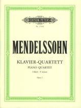 Klavierquartett f-moll op. 2 –parties MENDELSSOHN laflutedepan.com