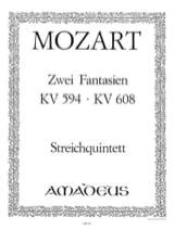 2 Fantasien KV 594 und KV 608 –Stimmen MOZART laflutedepan.com