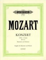 Konzert A-dur KV 622 - A-Klarinette Klavier MOZART laflutedepan.com